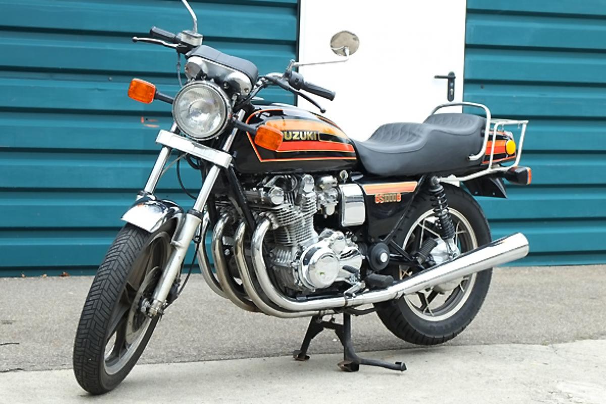 Suzuki Gs  Motorbike