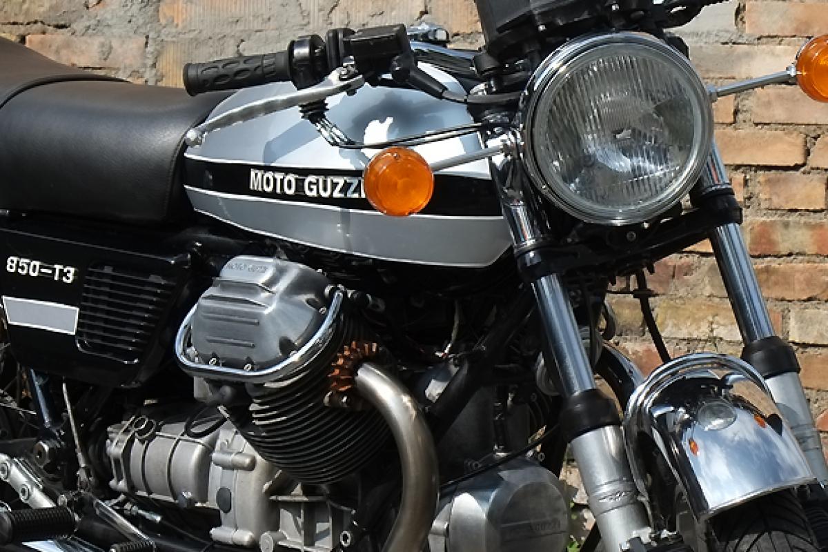 motorbike shop moto guzzi 850 t3. Black Bedroom Furniture Sets. Home Design Ideas